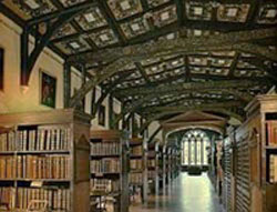 The Bodleian Library at Oxford