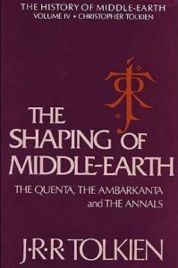 The Shaping of Middle-earth, The History of Middle-earth Volume 4